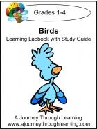 Birds Learning Lapbook Unit Study